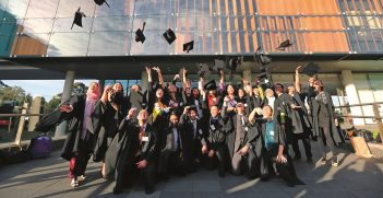 Farewell ceremony at the University of Sydney, Australia, picture taken by DFAT