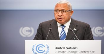 H.E. Mr. Frank Bainimarama, Prime Minister of the Republic of Fiji and COP 23 President Designate