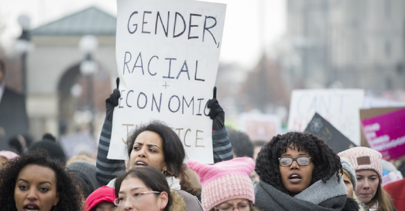 2017 has seen protests worldwide for women's and girls' rights