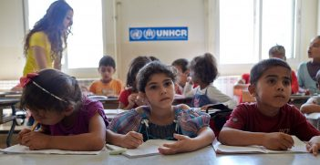 Children escaping conflict zones and other humanitarian disasters face an uncertain future