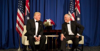 Turnbull meets with Trump earlier in the year