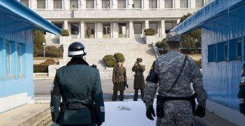 The demilitarized zone which separates North Korea from South Korea remains one of the tensest places on earth.