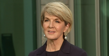 Julie Bishop resign
