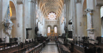 Nave of Christ Church Cathedral, Oxford, England (Credit: Wikimedia Commons)