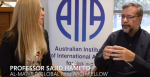 Flavia Bellieni Zimmermann from the Australian Institute of International Affairs in Western Australia, discussed Blasphemy Law and Islam with Al-Mawrid Global Research Fellow, Professor Sajid Hameed, through the UWA Centre for Muslim States and Societies.