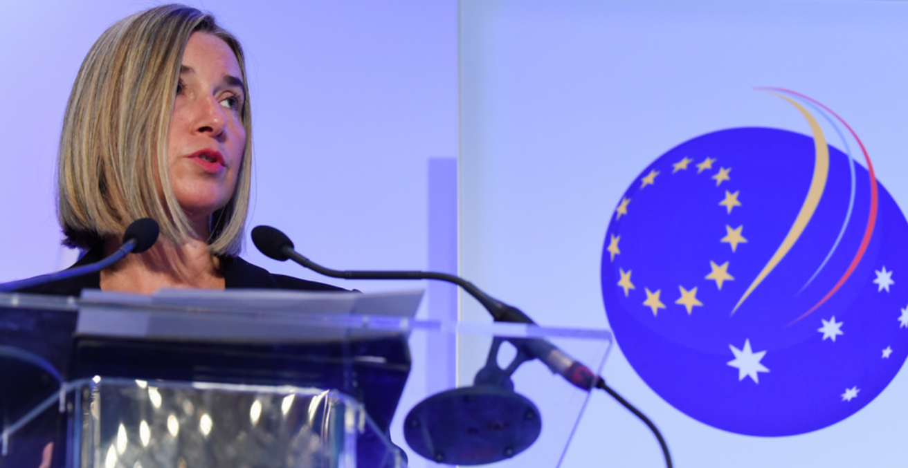 Federica Mogherini at the EUALF. Source: Flickr.