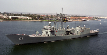 HMAS Adelaide. Source: US National Archives.