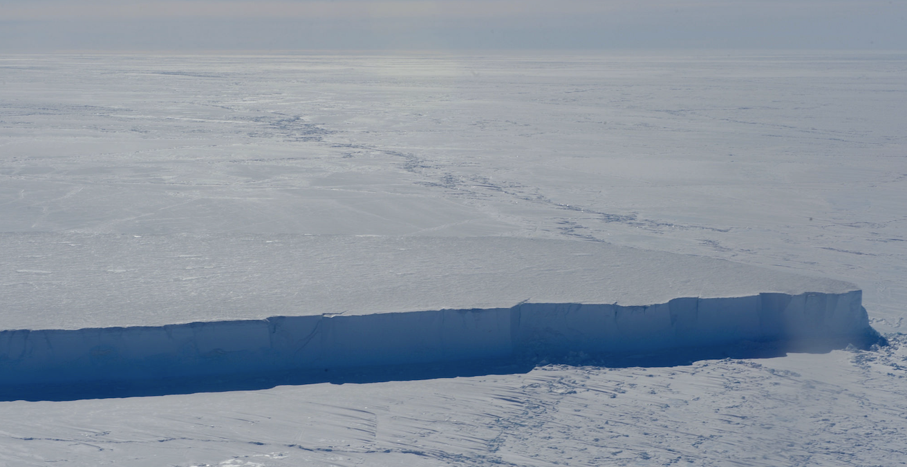 An iceberg in McMurdo Sound, Antarctica. Source: US Department of State, Flickr