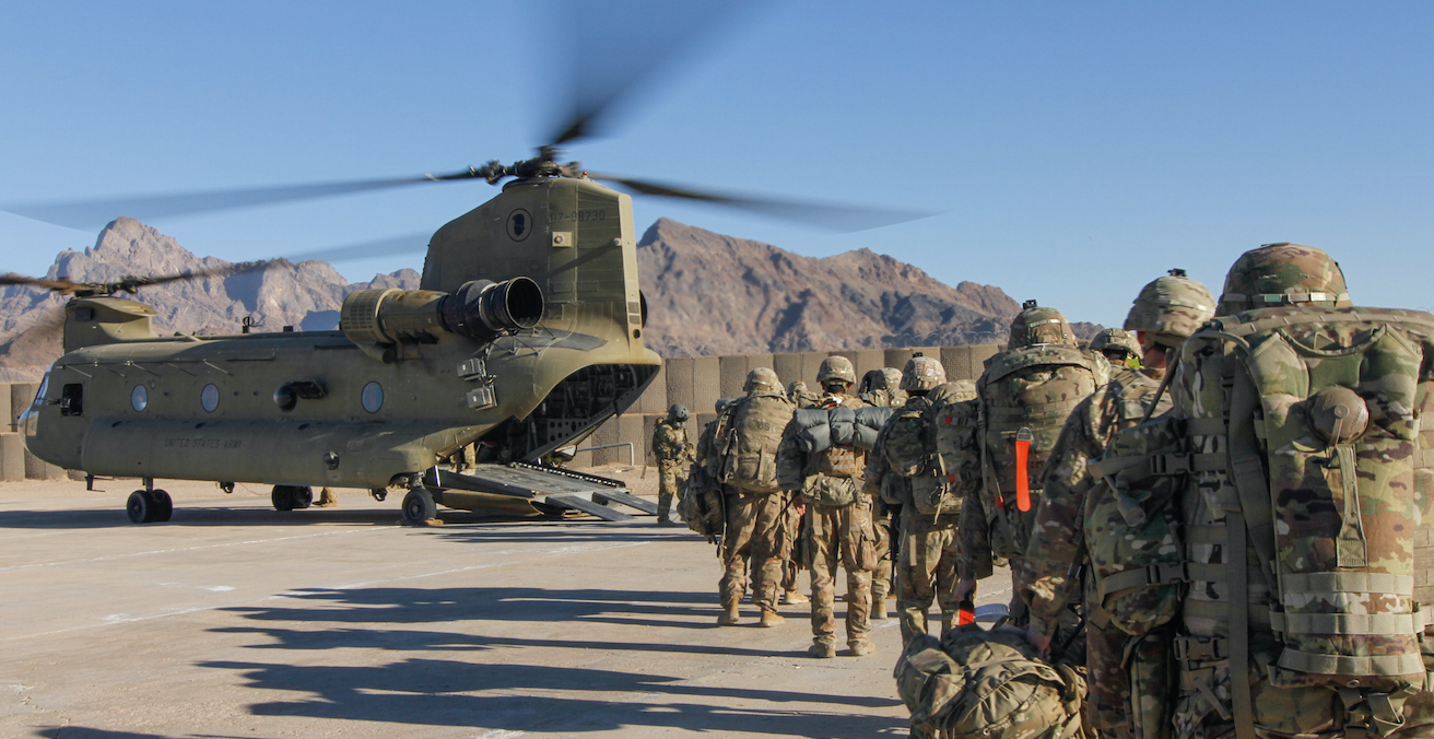 If handled properly, negotiations may lead the withdrawal of US troops from Afghanistan. Source: US Army, Flickr