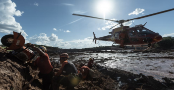 Israel sent 130 IDF troops to help with the search and rescue operation after the dam collapse in Brumadinho, Brazil. Source: idf.il