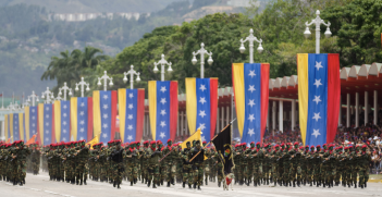 The Venezuelan military will have a decisive role to play in their country's future. Source: Marcos Salgado, Flickr