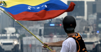 The Venezuelan crisis may lead to armed intervention in South America. Source: Twitter