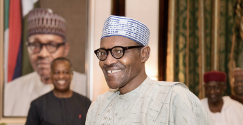 President Mohammadu Buhari won a second term in Nigeria's presidential election with 56 percent of the votes cast. Source: US Department of State, Flickr