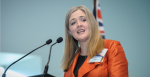 AIIA National Executive Director Melissa Conley Tyler addresses the Australian launch of the EU-Australia Leadership Forum in October 2016. Source: EU-Australia Laadership Forum