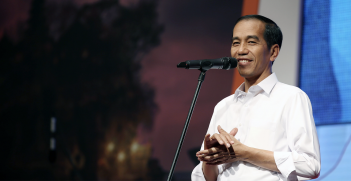 Incumbent Indonesian President Joko Widodo looks set to win a convincing victory in the country's presidential election. Source: Republic of Korea, Flickr