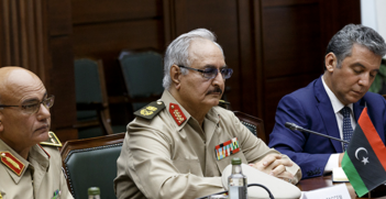 Khalifa Haftar and his Libyan National Army may turn out to be the unlikely saviours of the troubled Libyan state. Source: mil.ru