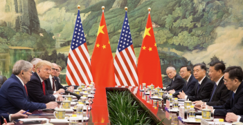 The framing of US-China relations as a clash of civilisations is strategically fraught with danger. Photo: Shealah Craighead/White House.