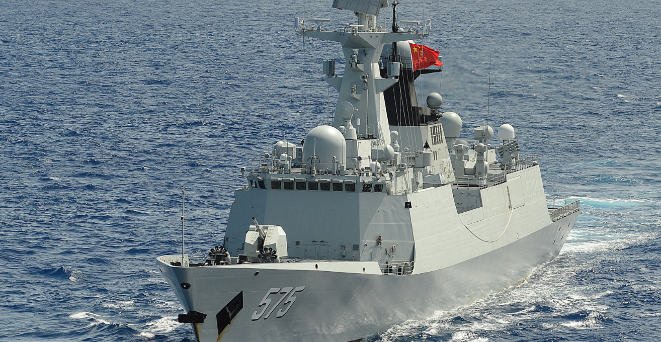 The PLA-N Type 054a Frigate Yueyang, similar to the Xuchang, which docked in Sydney recently. Source: Wikimedia Commons, U.S. Navy photo by Mass Communication Specialist 1st Class Shannon Renfroe