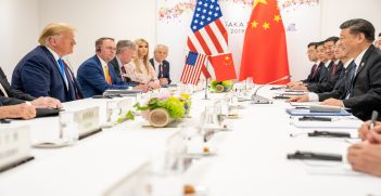 President Trump and President Xi at the G20. Source: The White House, Flickr, https://bit.ly/2ZaGGYw