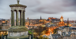 View of Edinburgh from Calton Hill, Scotland, United Kingdom - cityscape photography, Flickr: Giuseppe Milo