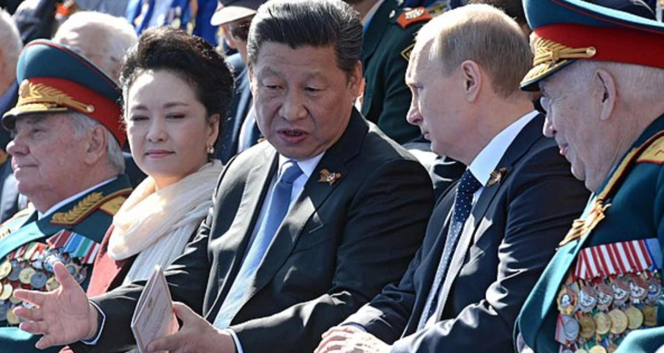 Xi Jinping and Vladimir Putin. Source: Wikimedia Commons http://bit.ly/2yr1awj