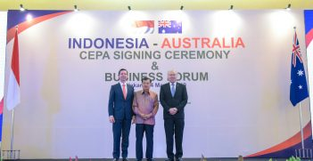 IA CEPA Signing Ceremony, Source: Australian Embassy Jakarta, Flickr, https://bit.ly/32k45DJ
