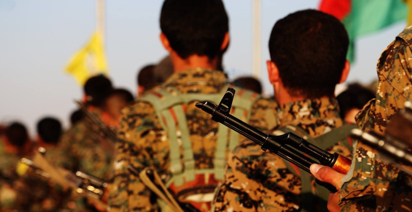 Kurdish YPG fighters. Flickr YPG/SDF