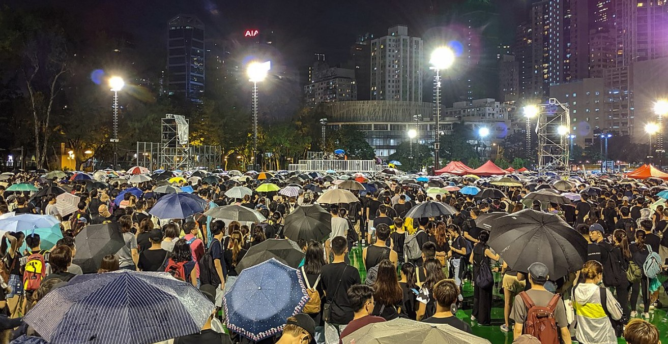 Hong Kong Protests 2019. Photo by Studio Incendo. Source: https://bit.ly/34t1E3o