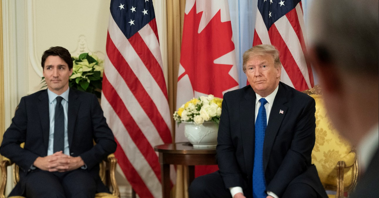 President Trump Meets with the Prime Minister of Canada. Photo by Shealah Craighead, The White House. Source:
