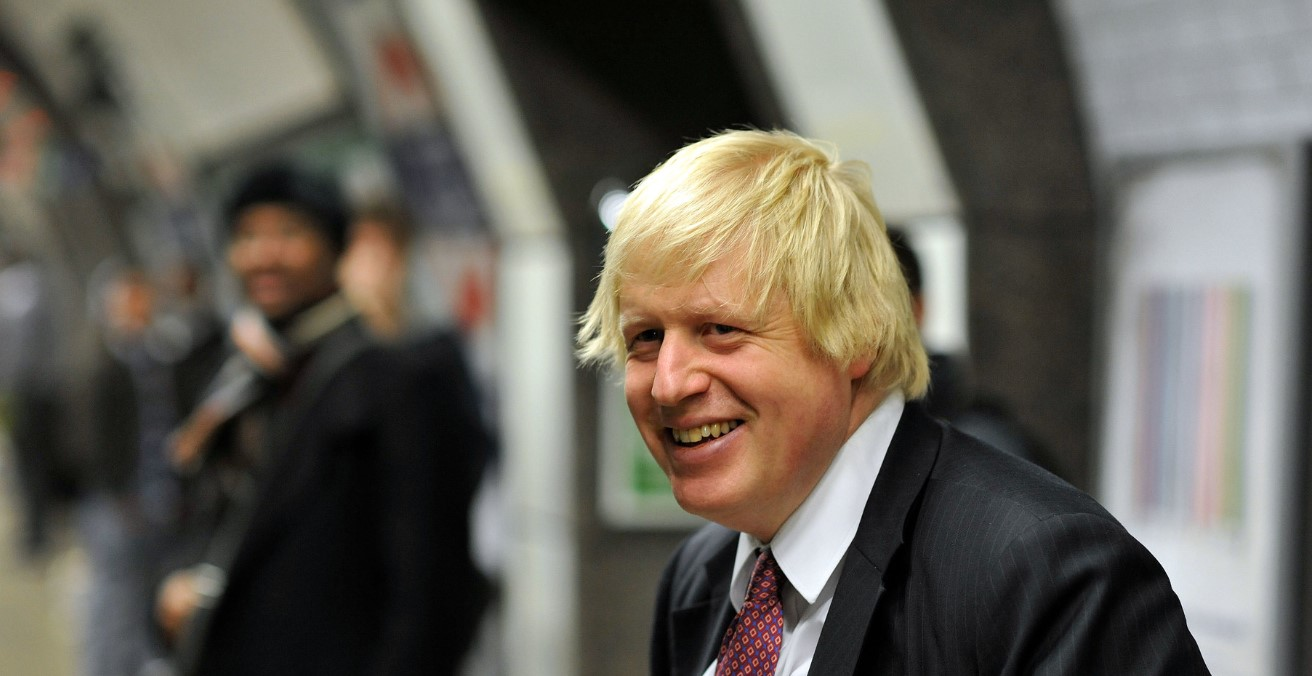 Boris Johnson in 2012. Photo by Andrew Parsons, i-images. Source: https://bit.ly/2PRLIl5