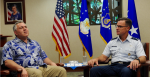 The Honorable Joe Hockey, Australian Ambassador to the U.S., visits Pacific Air Forces Headquarters, Joint Base Pearl Harbor-Hickam, Hawaii, June, 28, 2016. Source:  PACAF https://bit.ly/2vixhQA