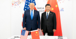 President Donald J. Trump joins Xi Jinping, President of the People's Republic of China, at the start of their bilateral meeting Saturday, June 29, 2019, at the G20 Japan Summit in Osaka, Japan. Source: Official White House Photo by Shealah Craighead https://bit.ly/2UxQyrf