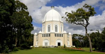 Baha'i Temple in Ingleside, Sydney, New South Wales, Australia. Source: Alex Proimos https://bit.ly/3dDSXqM
