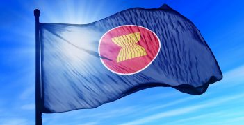 ASEAN flag. Source: Shutterstock.