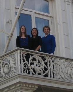 Last three interns working at the Permanent Bureau