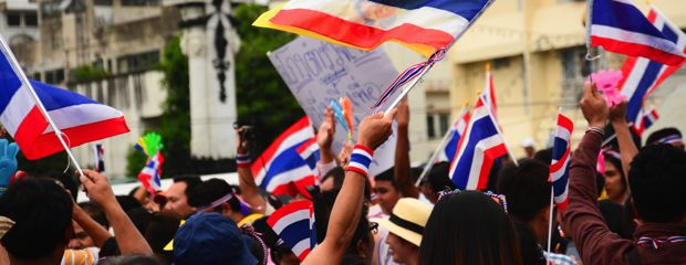 Thailand is heading to the polls on 24 March after five years of military rule. Source: Shutterstock