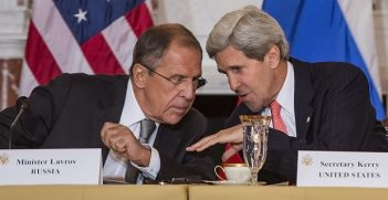 Russian Minister Lavrov and U.S. Secretary Kerry Source: Flickr (cc) by Secretary of Defense
