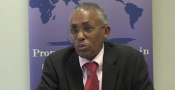 Minister of National Planning and Development of Somaliland, The Hon Dr Saad Ali Shire
