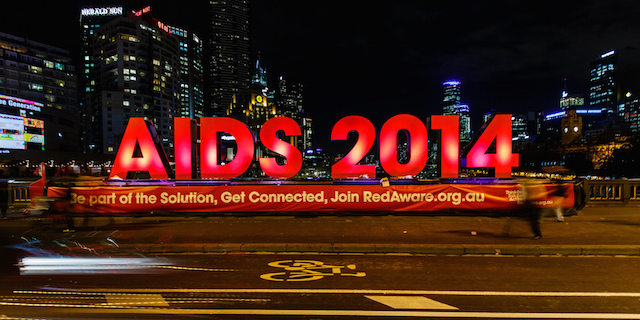 The 2014 AIDS Conference to Melbourne. Image Credit: Flickr (Scott Cresswell), Creative Commons.