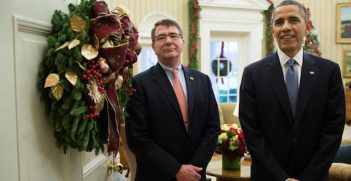 Ashton Carter and President Barack Obama in the Oval Office. Official White House Photo. Image Credit: Pete Souza