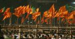 Party flags of Bharatiya Janta Party (BJP) and Shiv Sena. Flickr (Al Jazeera English) Creative Commons.