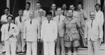 The Good Offices Committee (GOC)  meeting with exiled Indonesian government leaders, 1949. Image Credit: The Sukarno Years.