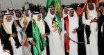 King Abdulla bin Abdulaziz Al Saud takes part in the