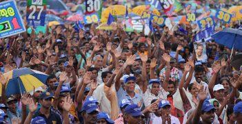 UPFA Provincial Council Election Campaign Rally. Image Credit: Flickr (President Mahinda Rajapaksa). Creative Commons.