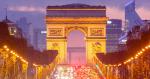 Arc de Triomphe and Champs-Elysées avenue. Image Credit: Flickr (Loïc Lagarde) Creative Commons.