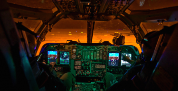 B1 Cockpit. Photo credit: Flickr (US Air Force) Creative Commons