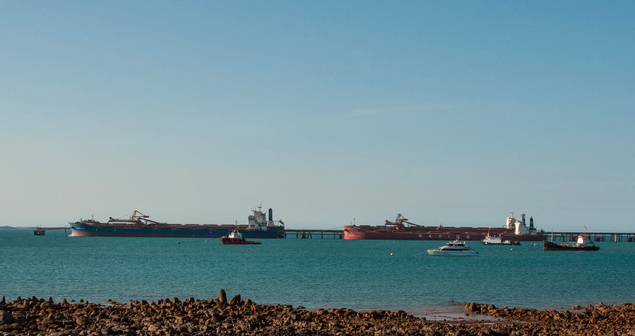 Iron Ore Shipping. Photo credit: Flickr (Graeme Churchard) Creative Commons