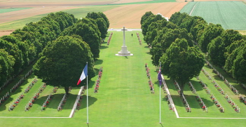 Western Front memorial. Photo credit: Wikimedia Commons (Aspdin) Creative Commons