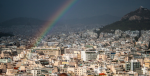 Is there a rainbow at the end of this debt cloud for Greece? Photo Credit: Flickr (Morpheu5) Creative Commons