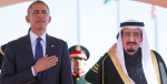 President Obama and King Salman are drawing apart from each other. Photo Credit: Google Images (The Indian Express) Creative Commons.